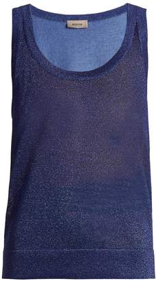 Missoni Deep scoop-neck knit tank top