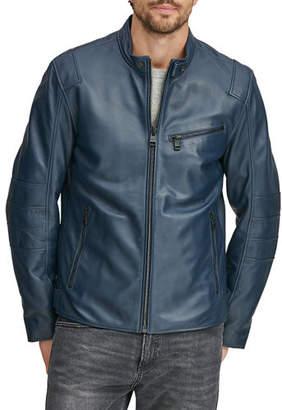 Andrew Marc Men's Weston Moto-Leather Jacket