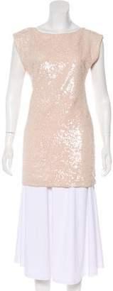 Alice + Olivia Silk Sequin Tunic