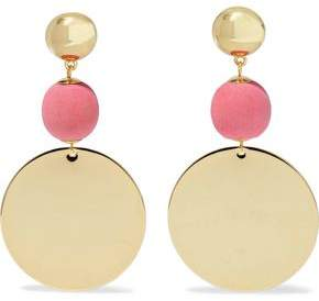 Elizabeth and James Gold-Tone Bead Earrings