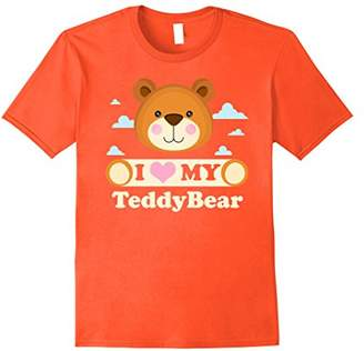 I Love My Teddy Bear Shirt