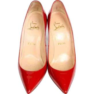 Christian Louboutin Pigalle Red Patent leather Heels