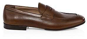 Salvatore Ferragamo Men's Leather Penny Loafers