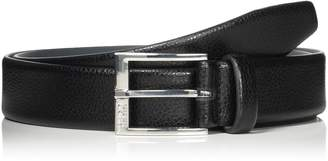HUGO BOSS Leather C-Elloy Belt 34 Black
