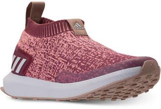 adidas Girls' RapidaRun Laceless Running Sneakers from Finish Line