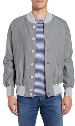 GoldenBear Golden Bear The Miramar Linen Blend Varsity Jacket