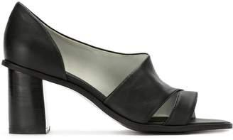 M·A·C Mara Mac cut out block heeled pumps