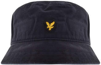 cf91b89d90960 Lyle   Scott Twill Bucket Hat Navy