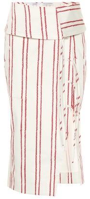 Altuzarra Anniversary collection Obi stretch cotton skirt