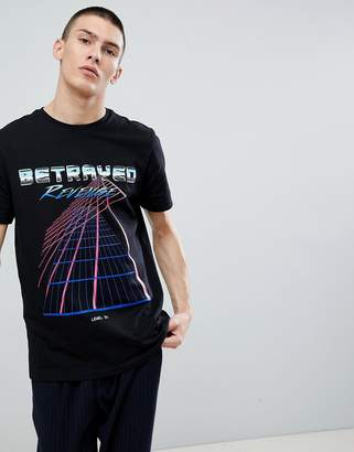 New Look Betrayed T-Shirt In Black