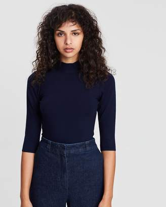 Theory Fitted Turtleneck Shell