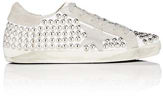 Golden Goose Women's Women's Superstar Studded Leather & Suede Sneakers $665 thestylecure.com