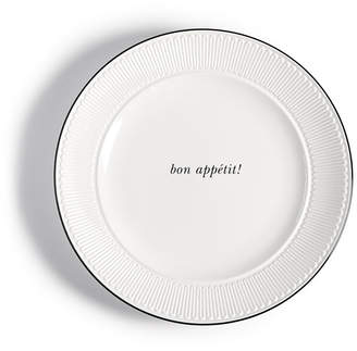 Kate Spade York Avenue Bon Appetit Accent Plate