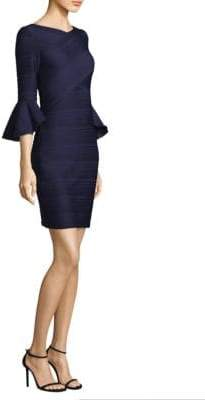 Shoshanna Donielle Bell-Sleeve Dress