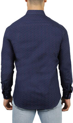 Maceoo Shaped-Fit Dobby Sport Shirt