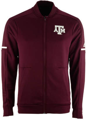adidas Men's Texas A & M Aggies Sideline Warm-Up Jacket