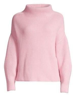 BOSS Faya Mockneck Wool-Rich Sweater