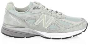 New Balance 990 Suede Low-Top Sneakers