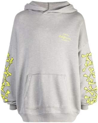 Amiri bone print hoodie