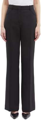 Victoria Beckham VICTORIA, Pintucked flared suiting pants