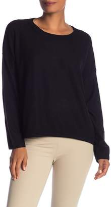 Vince Drop Shoulder Cashmere Pullover