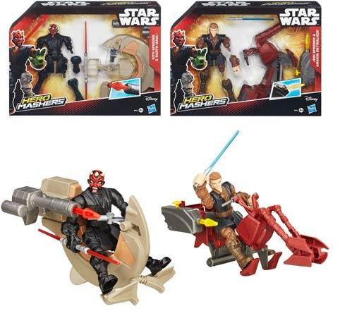 Star Wars Hero Mashers Speeders Wave 1 Set
