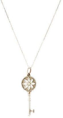 Tiffany & Co. Daisy Key Pendant Necklace $295 thestylecure.com