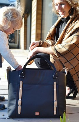 Infant Pacapod 'Mirano' Diaper Bag - Black $190 thestylecure.com