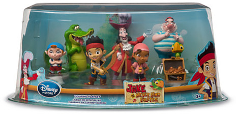 Disney Jake and the Never Land Pirates Figure Play Set