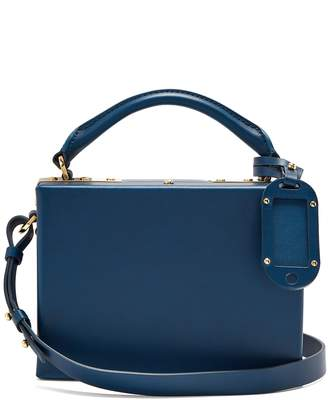 Sophie Hulme Albany leather cross-body bag