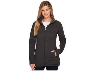 The North Face Knit Stitch Fleece Jacket Women's Fleece