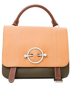 J.W.Anderson Disc Leather Satchel Bag