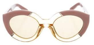 Karen Walker Poolside Flowerpatch Sunglasses w/ Tags