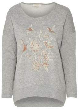 Cream Jana Hummingbird Sweatshirt