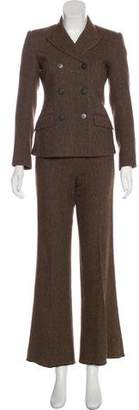 Theory Wool Two-Piece Pantsuit