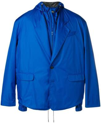 Y/Project Y / Project buttoned hooded jacket