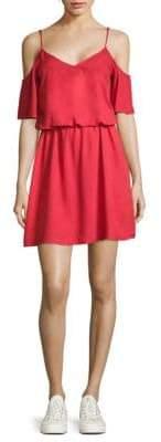 Splendid Cold Shoulder Blouson Dress