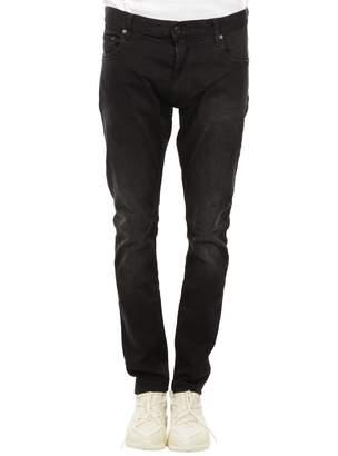 Tommy Hilfiger Lewis Hamilton Black Cotton Stretch Jeans