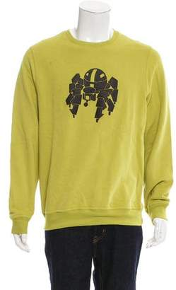 Hermes Abstract Leather Pattern Sweatshirt