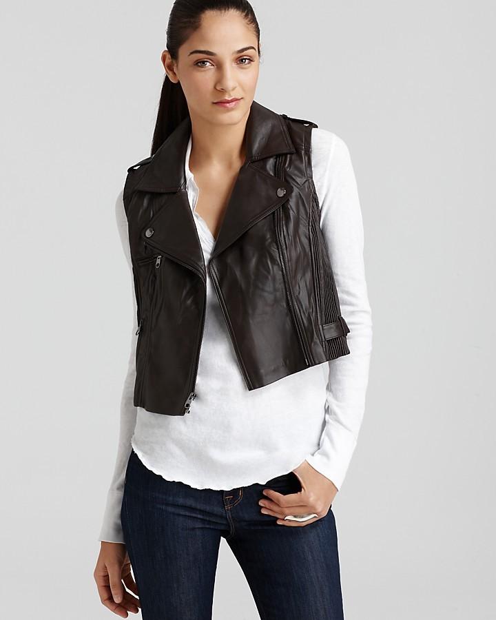 GUESS Vest - Faux Leather
