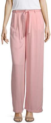 A.N.A Soft Womens Wide Leg Pull-On Pants