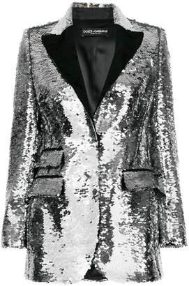 Dolce & Gabbana sequinned blazer