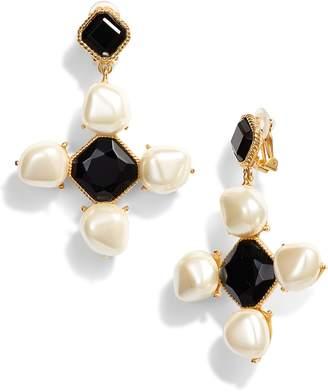 Oscar de la Renta Baroque Drop Earrings