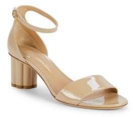 Salvatore Ferragamo Eraclea Patent Leather d'Orsay Sandals