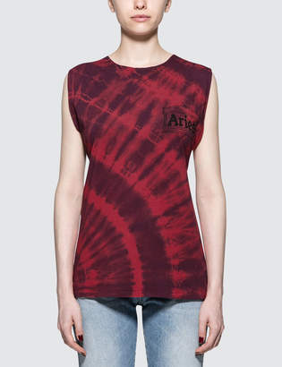 Aries Twisted Tie Dye Vest