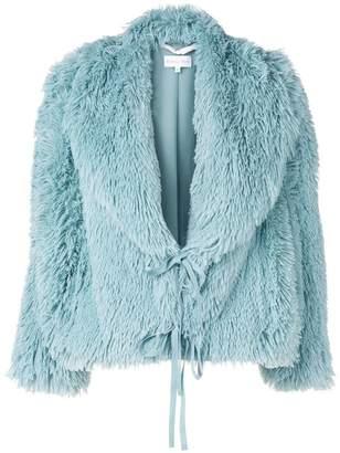 Patrizia Pepe faux fur jacket