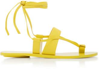 Tibi Reid Leather Sandals