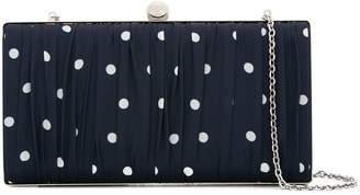 We11done dot print chain clutch bag