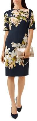 Hobbs London Astraea Floral Print Sheath Dress