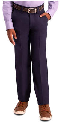 Haggar Boys Cool 18 Pro, Slim Fit, Flat Front Pant Size 8 - 20